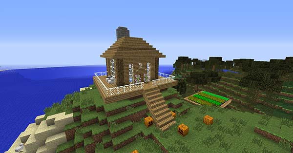 Wimpy Steve Luxury Log Cabin Seed  Luxury Log Cabin Seed Wimpy Steve. Wood Cabin Minecraft